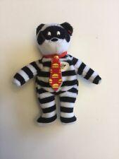 TY McDonald's Teenie Beanie - #9 HAMBURGLER the Bear (2004) No Hang Tag