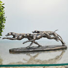 Bronze Greyhound Whippet Dog Sculpture Racing Statue Trophy Ornament NEW 31038