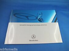 Original Mercedes mantenimiento cuaderno cuaderno de servicio w211 w212 w221 w203 w204 assyst Plus