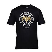 Peaky Blinders T-Shirt Alfie Solomons Rum & Choke Tee TV BBC Shelby Tom Hardy