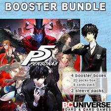Persona 5 Weiss Schwarz Booster Box BUNDLE