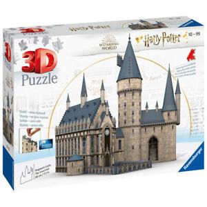 Ravensburger Harry Potter 11259 3D Jigsaw Puzzle Hogwarts Castle 540 Pcs 10+ Yrs