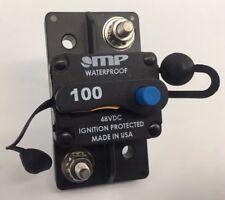 100 Amp High AMPERAGE Surface Mount Circuit Breaker Type 3 Manual Reset DC - USA