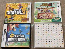 New Super Mario Bros. 1+2 Animal Crossing Nintendo DS 3DS Club Game Case 18