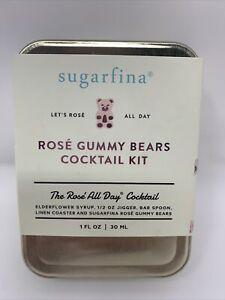 SUGARFINA  Rosé Gummy Bears Cocktail Kit, Rosé All Day Cocktail