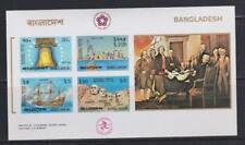 BANGLADESH STAMPS 1976 AMERICAN REVOLUTION IMPERF  SS MNH - LAN199