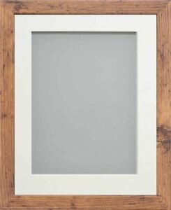 Frame Company Allington Range Rustic Picture Photo Poster Frame with Photo Mount