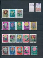 XC25058 China 1960 flowers nature fine lot used cv 125 EUR