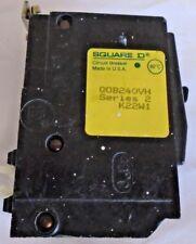 Square D Circuit Breaker Qob240Vh 2 Pole New *12