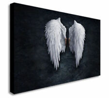BANKSY ANGEL WINGS Print Picture Art READY TO HANG Canvas Wall Art Prints framed