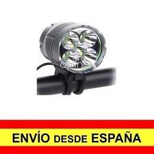 Luz Delantera 5 LED Faro Cabeza Batería Diadema + Luz Trasera Bicicleta a2887