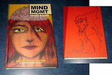 MIND MGMT signed w/ original art sketch HARD COVER MATT KINDT HC 2012 managment