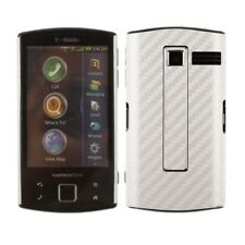 Skinomi Carbon Fiber Silver Cover+Screen Protector for Garmin-Asus Nuvifone A50
