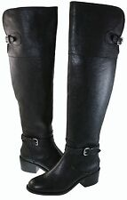 Coach Womens Phillis Over The Knee Pull On Strap Buckle Zipper Casual Boots