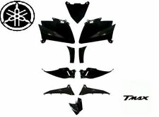 Set Fairings Yamaha Tmax T Max 530 Shiny Black 10 Pieces 2012 2013 2014 2015