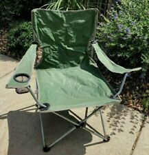 "Sage Green 34.5"" Chair Folding Comfortable Lightweight Indoor Outdoor Camping"