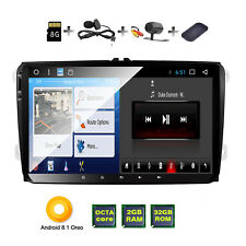 "9"" VW GOLF MK5 Android 8.1 Car HD Players GPS Sat Nav Stereo PASSAT SKODA Caddy"