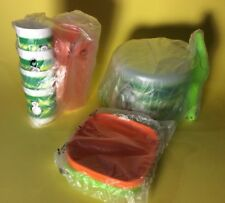 Rare New Tupperware Childrens Kids Mini Party Set Cake Taker Pitcher Trays Cups