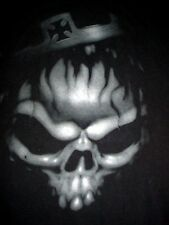WWE BIKER CHOPPER SCULL VAMPIRE HHH TRIPLE H-T SHIRT-XL