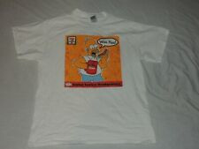 THE SIMPSONS 7-ELEVEN SHIRT HOMER SIMPSON SIZE LARGE COLOR WHITE
