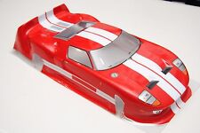 R0111R VRX Carrozzeria Stradale Rossa 1/10/PAINTED BODY 1/10 ROAD VRX RED