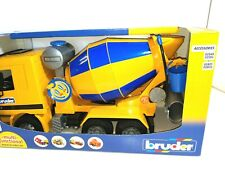 Bruder Cement Mixer Construction Kids Childrens Toy Model Scale 1:16 NIB NEW