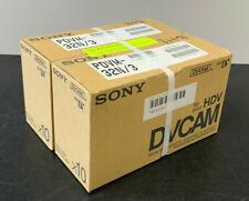 Lot of 20 DVCAM SONY PDVM-32N/3 Didital Video Cassette