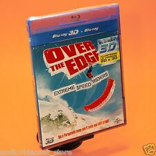 OVER THE EDGE EXTREME SPEED RIDERS BLURAY blu-ray 3D + Blu-Ray sci e parapendio