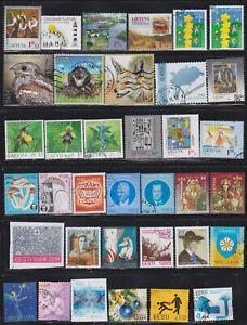 Estonia, Latvia, Lithuania  81  used stamps