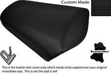 BLACK STITCH CUSTOM FITS HONDA NC 700 X 12-14 REAR LEATHER SEAT COVER