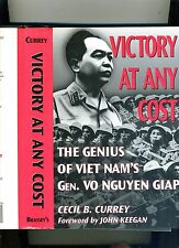 MILITARY-VICTORY AT ANY COST-CURREY- 1997-HB/DJ. GENIUS OF GEN. GIAP-FN