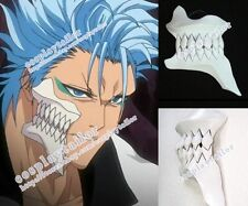 Bleach Grimmjow Cosplay High Quality White Broken Mask Face Cool Teeth
