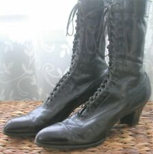 New listing Authentic Victorian Women's Black High Lace Up Boots