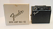 Fender mini amp ma10 ma-10 box 1 w battery power overdrive 1 of 2