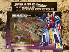 Transformers G1 Starscream Walmart Reissue Rare International Release New Misb