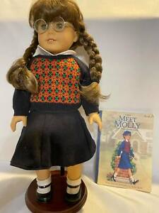 """Molly McIntire"" Pleasant Company American Girl Doll Retired 1986"