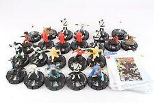 23 Figuras Heroclix Deadpool CUR muchos dobles dobles Misericordia Negro Talon