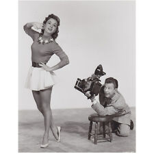 Debbie Reynolds Posing and Smiling for the Photographer 8 x 10 Inch Photo