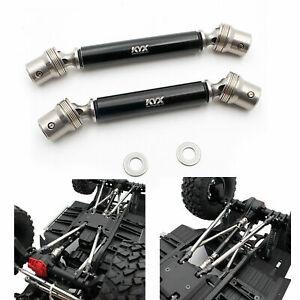 Axial SCX10 III Jeep Wrangler Hardened Steel Driveshafts Black