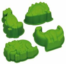 Kitchen Craft Let's Make Kitsch N Divertente Dinosauro in Silicone a forma di torta / JELLY MUFFA