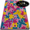 Soft Carpets Bedroom Boys Girls Thick Children Rug KIDS BUTTERFLY FUN Rugs LARGE