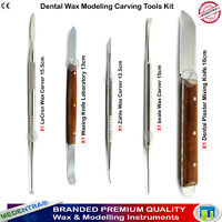 Dental Laboratory Wax Carving Modelling Tools Set Surgical Stainless Steel Knife