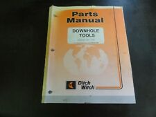 Ditch Witch Downhole Tools Parts Manual  06PL 10/99     053-450