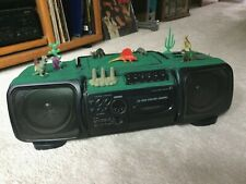 Dino 5000 Sanyo Z1 Am/Fm Cd/Cassette portable player with Dinosaurs!