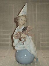 "LLADRO Horoscope Porcelain Figurine ""Capricorn"" boy with goat #6222 MINT"
