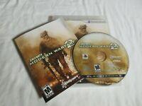 Call of Duty: Modern Warfare 2 (Sony PlayStation 3, 2009) PS3 Complete CIB