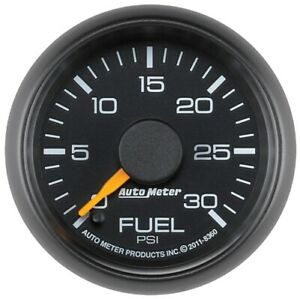 "Auto Meter 8360 2-1/16"" Factory Match Fuel Pressure Gauge 0-30 PSI For GM NEW"