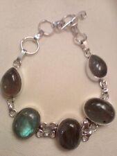 Handmade Labradorite Not Enhanced Fine Bracelets