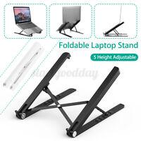 Adjustable Foldable Laptop Stand Computer Cooling Bracket Portable Holder  A!