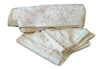 Morgan Finch Vtg Linen Blend DB Doona Quilt Cover set Hamptons French provincial